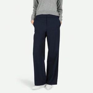 Everlane High Waisted Wide Leg Trousers